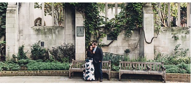 London Sunrise Engagement featured on London Bride