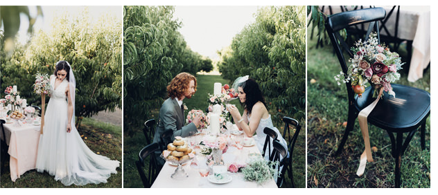 RMW Peach Orchard Wedding Inspiration