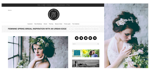Miss Gen Photography featured on Juno & Joy