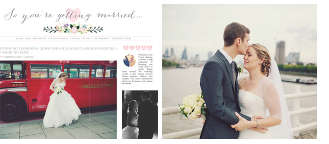 Miss Gen Photography - London wedding featured on So You're Getting Married wedding blog