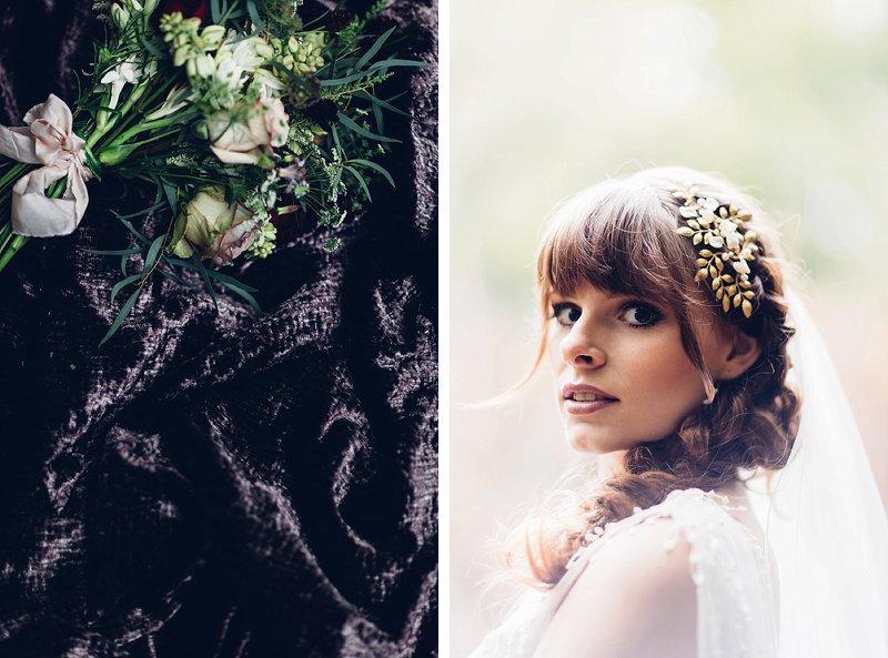 woodland elopement photography