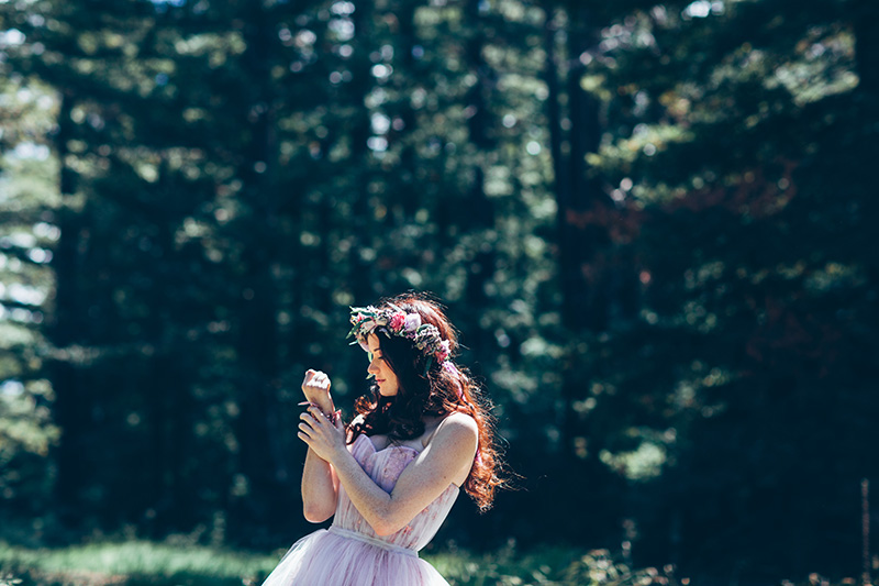 outdoor forest wedding in canberra