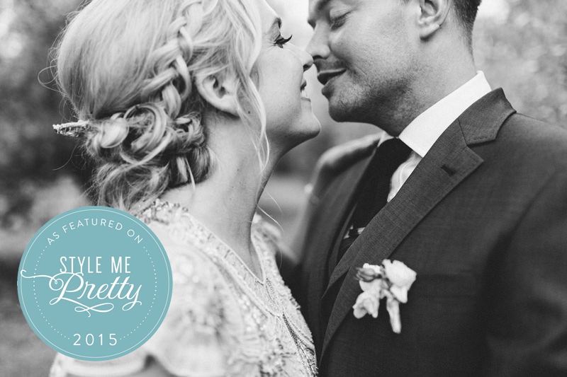 South of France destination wedding featured on Style Me Pretty