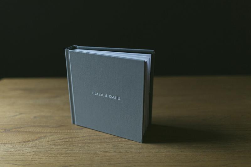 contemporary wedding album