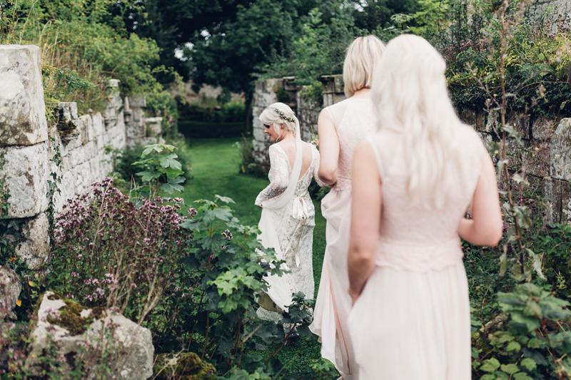 beautiful boho wedding photography