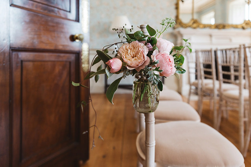 Wedding Flowers South Devon : Elegant country manor house wedding at pynes in