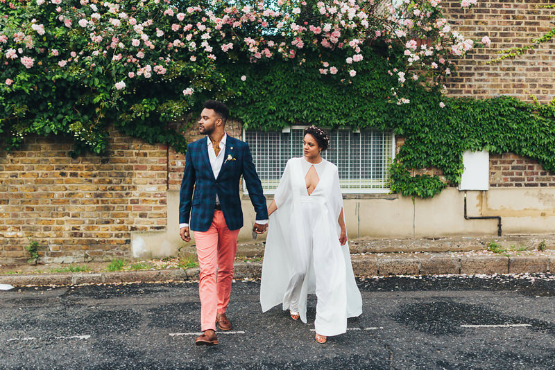 cool east london wedding