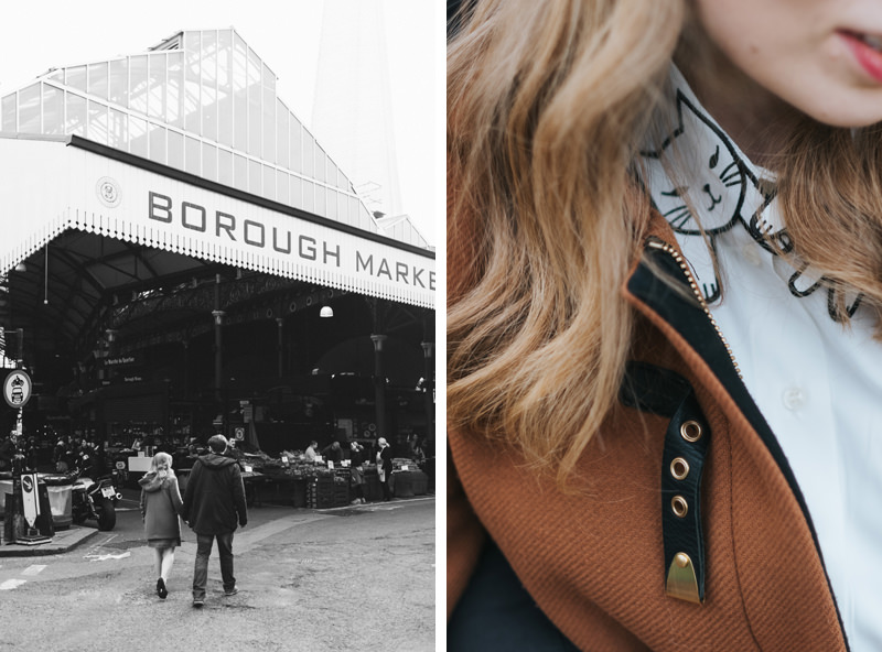 borough market couple session