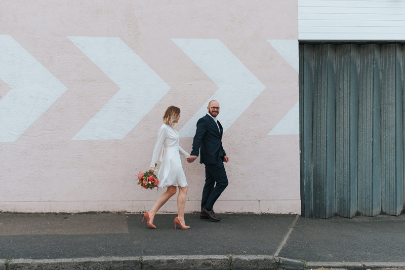 alternative modern wedding photography by destination wedding photographer Miss Gen