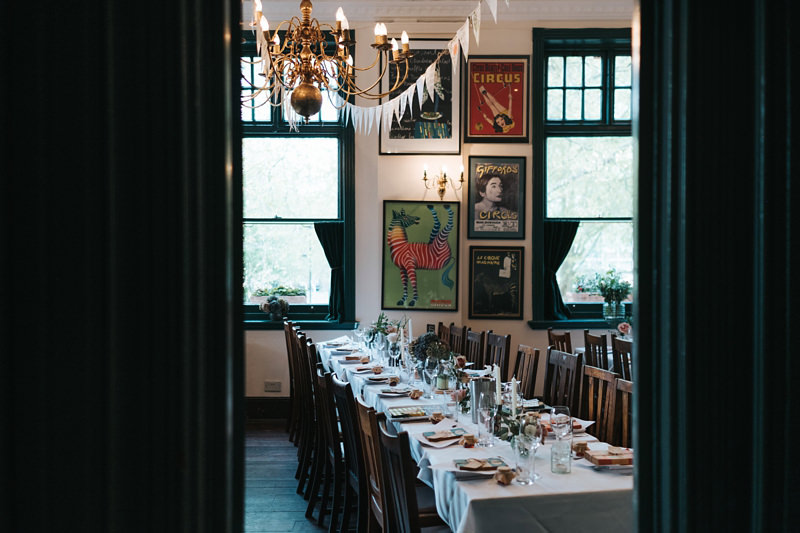 Vintage botanical themed wedding at the peasant pub in clerkenwell by Miss Gen