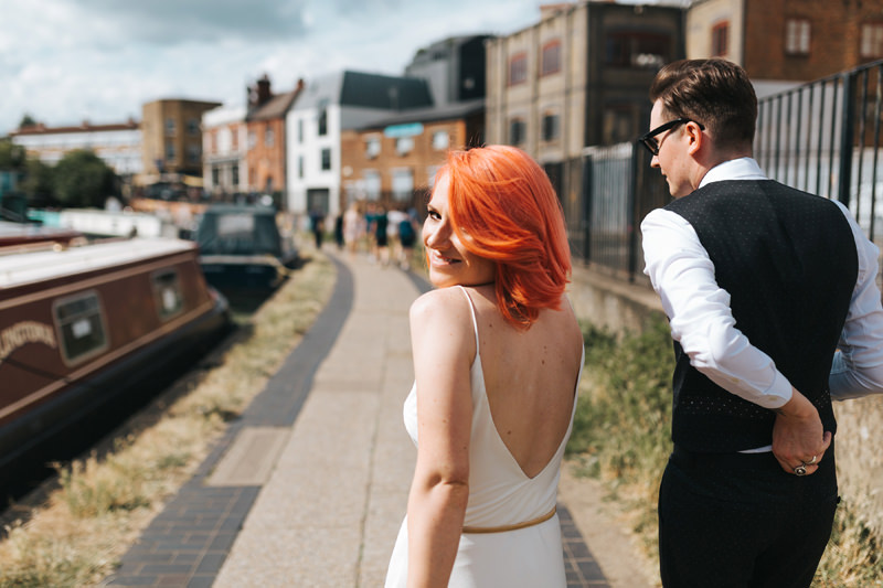 london bride pink hair