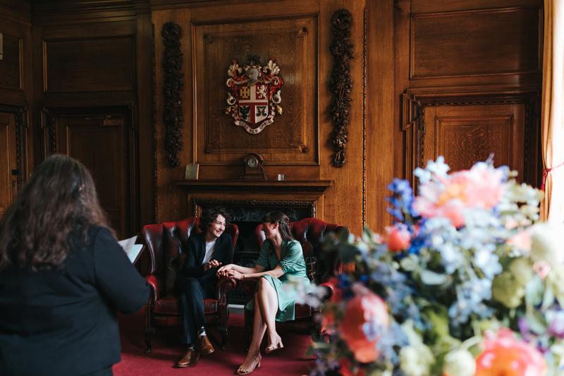 intimate london wedding photographer