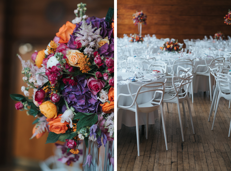 colourful, modern london wedding at town hall hotel in bethnal green