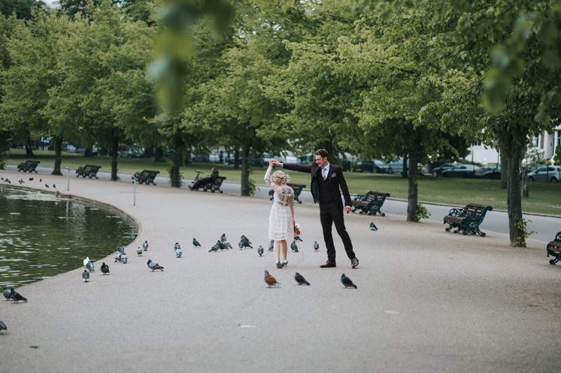 spring elopement london