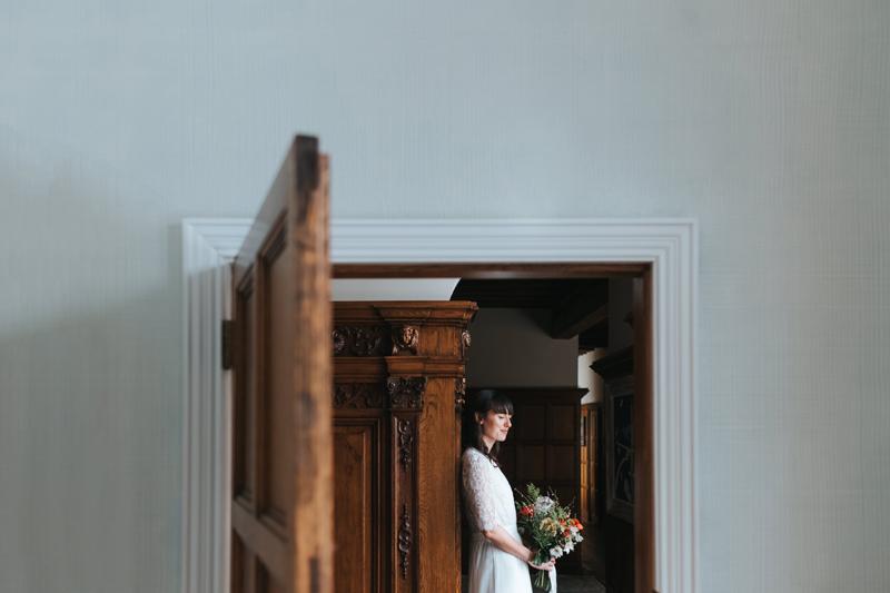 modern bride portrait by london wedding photographer miss gen