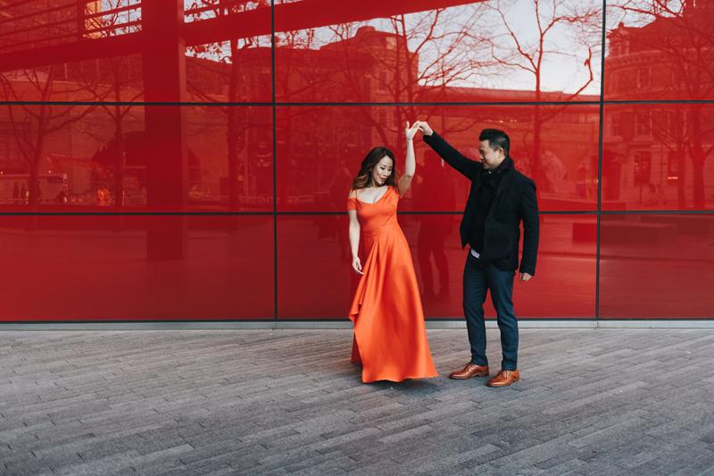 contemporary london wedding photograher