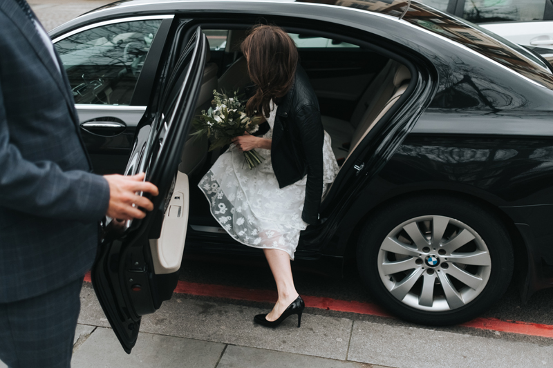 intimate wedding islington