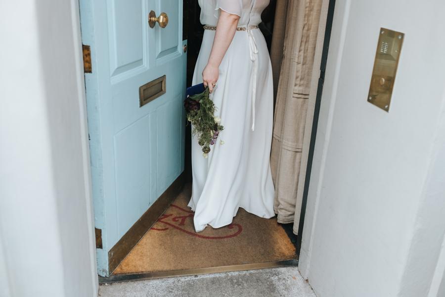 intimate zetter townhouse wedding