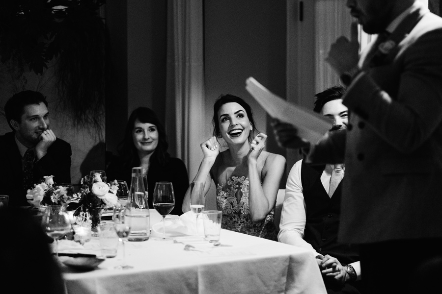 relaxed modern wedding photography