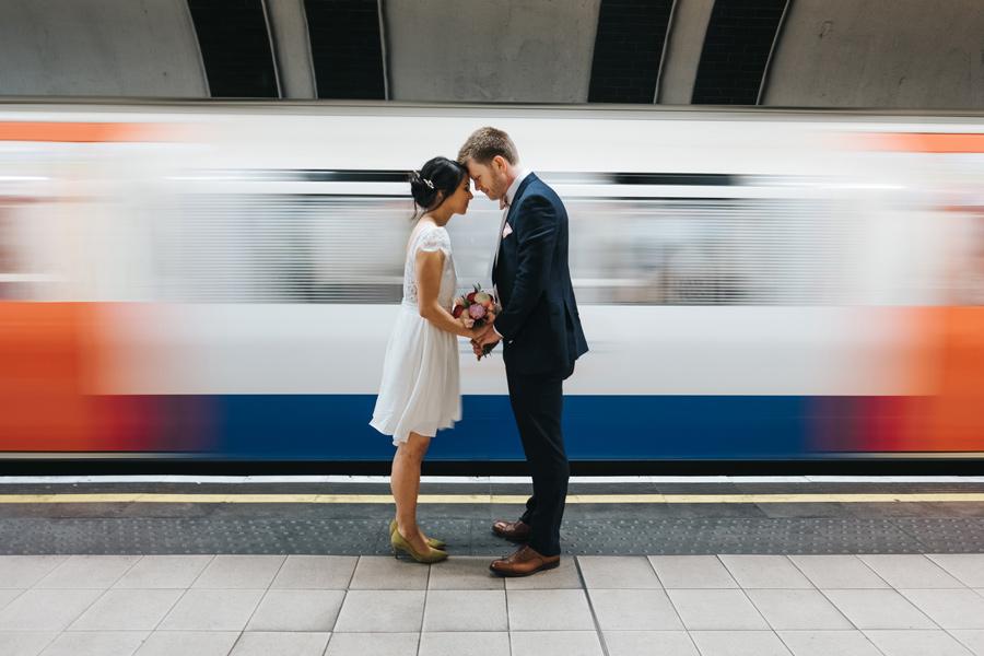 cute london elopement