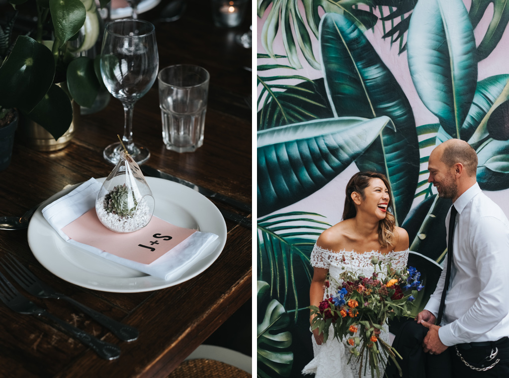 jungle wedding inpiration