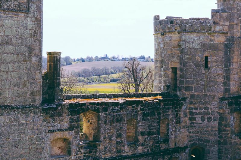 Bodiam Castle in East Sussex England, UK.