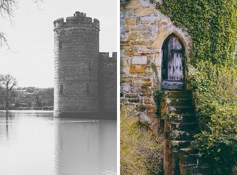 Travel photography at Bodiam Castle in East Sussex England. Photography by Miss Gen Photography