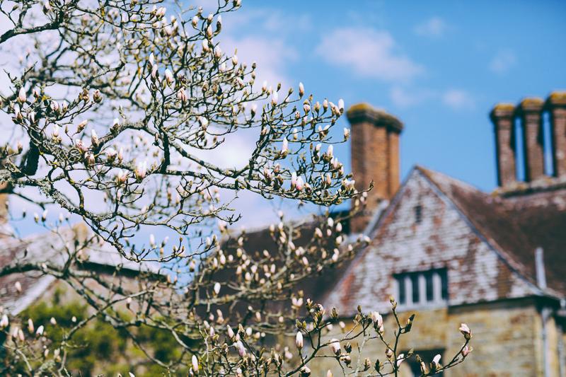 Scotney Castle in Kent England, UK.