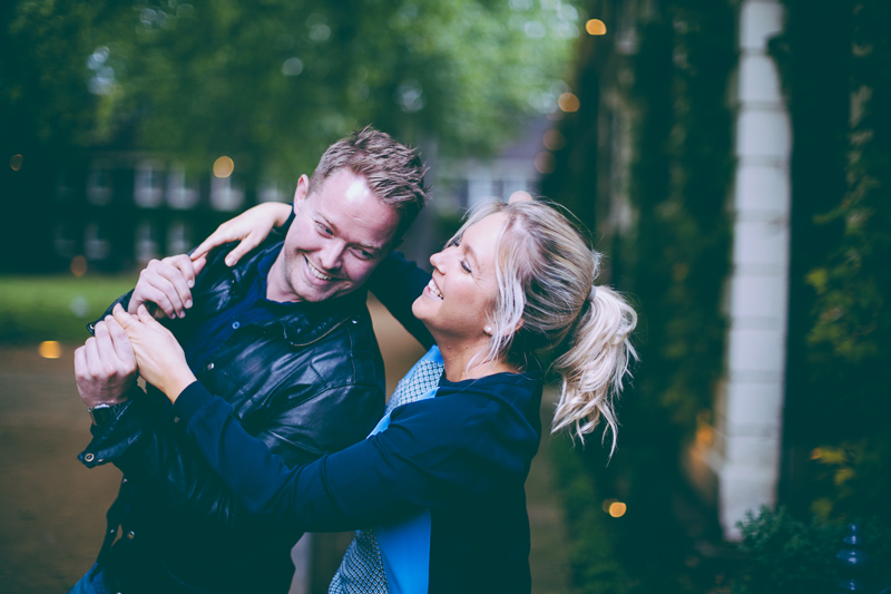 London engagement photography in Shoreditch by Miss Gen Photography. London wedding photographer