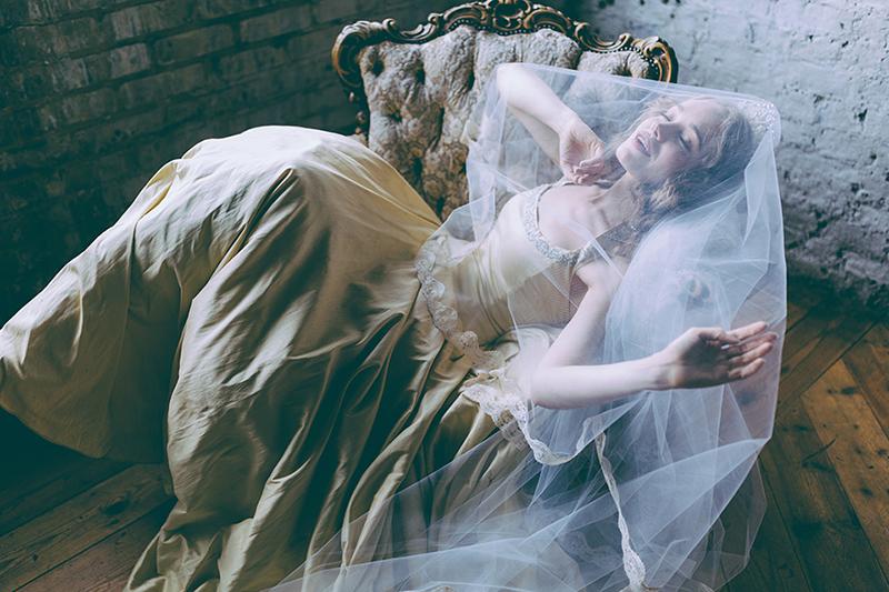 The Sleeping Beauty Bride A London Bridal Fashion Story