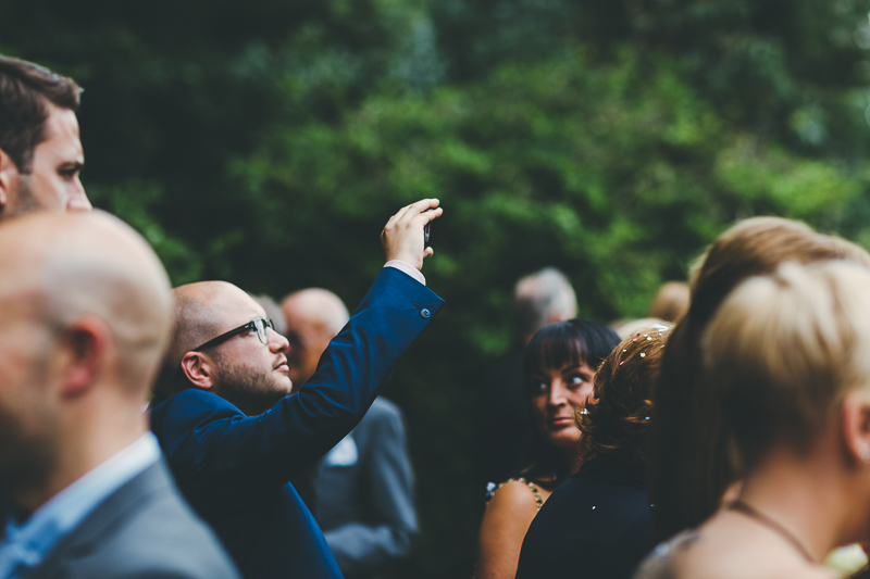 natural photos of the bride and groom in the gardens at Portsmouth Registry Office