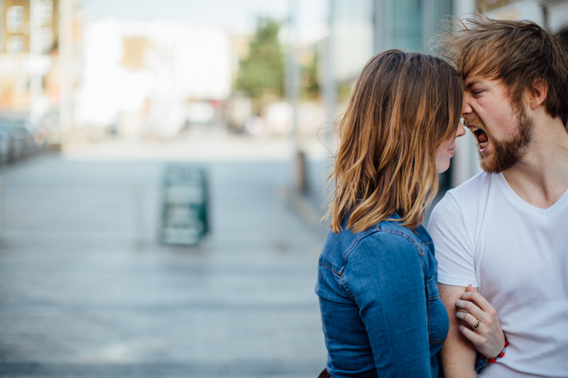 Couple portrait photography session in dalston london by miss