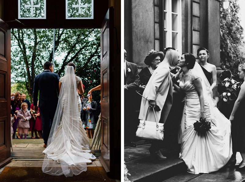 Contemporary, alternative, natural, reportage, documentary style photography in the Peak District at Thornbridge Hall. Wedding photography by Miss Gen Photography - London and destination wedding photographer.