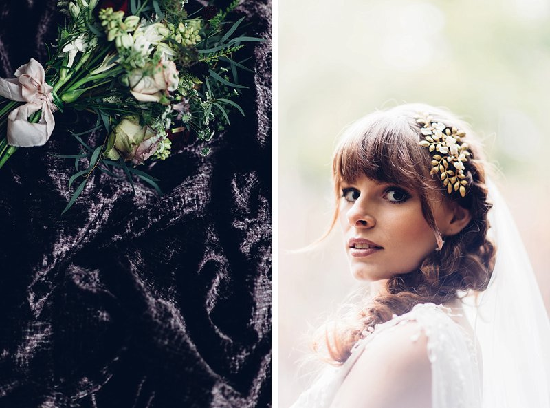 woodland elopement photography