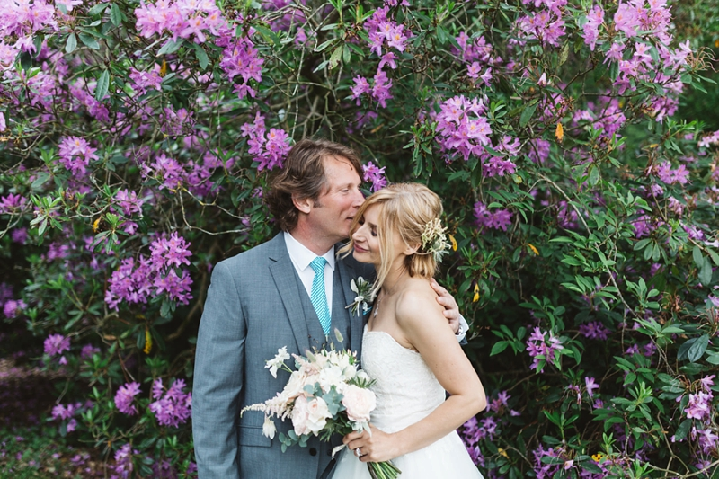 Beautiful wedding photography at Pynes House in Devon