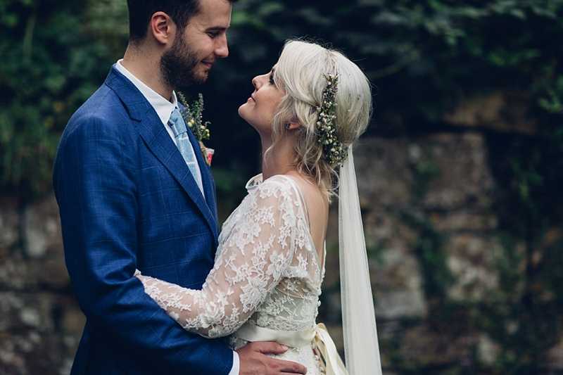 Boho bride yorkshire wedding photographer