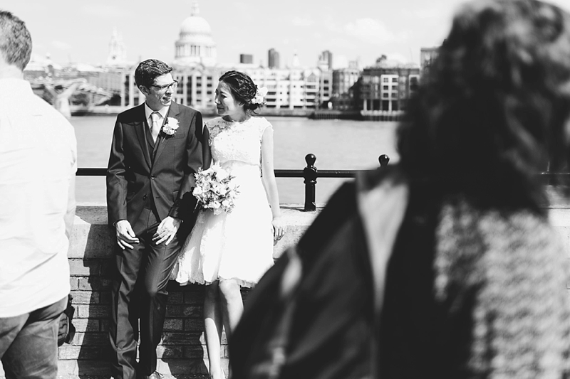 intimate wedding central london