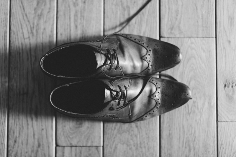 wedding brogues