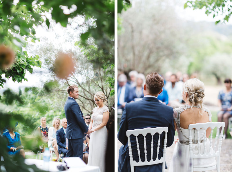 pretty provence chateau wedding