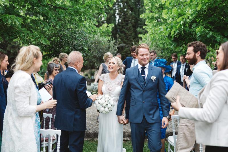 provence wedding lavender confetti