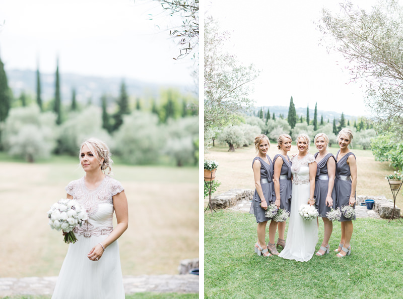 Grey Lavender Provence France wedding