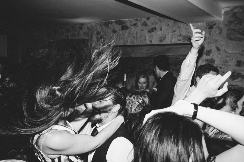 dance floor action in provence france wedding