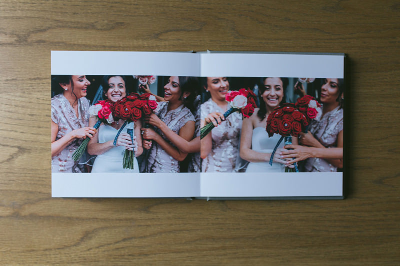 fine art wedding book