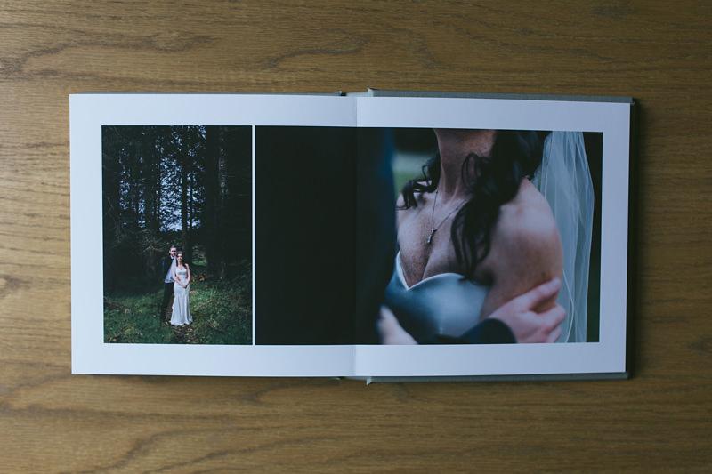 woodland wedding portraits