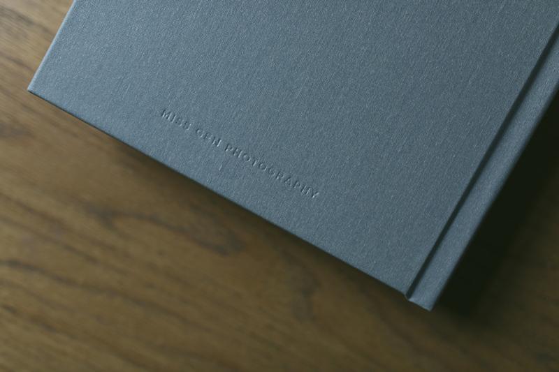 fabric cover fine art album