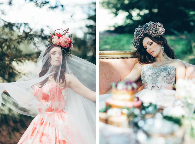 Fairytale woodland wedding inspiration alice in wonderland