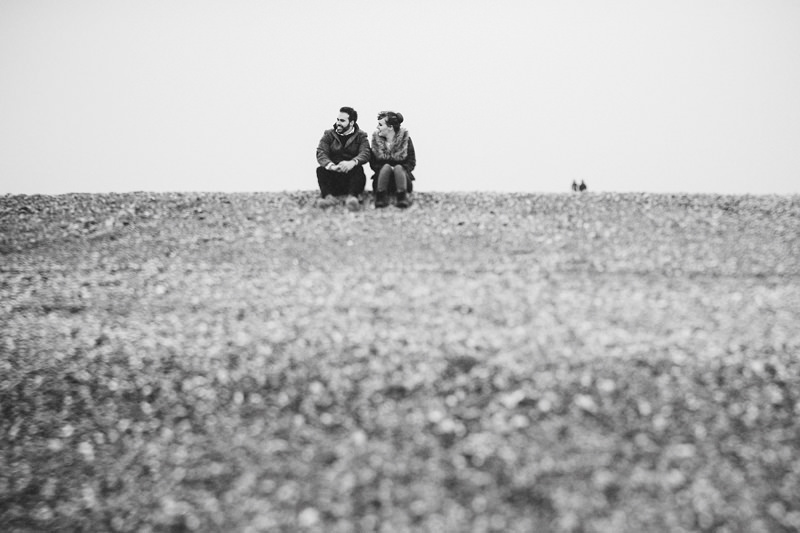 quirky engagement photography