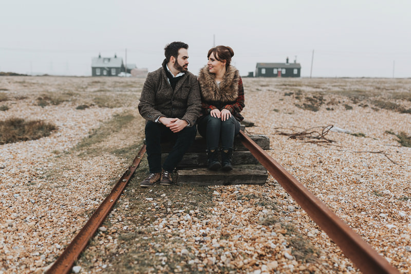 contemporary engagement photography