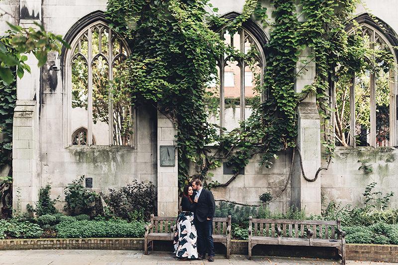 beautiful engagement photography london