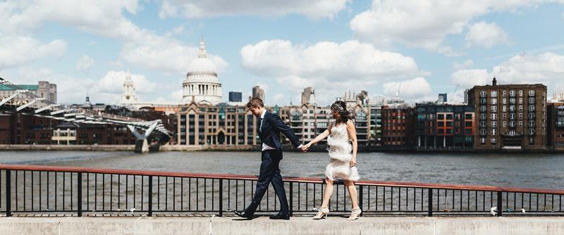 creative wedding photography london by miss gen